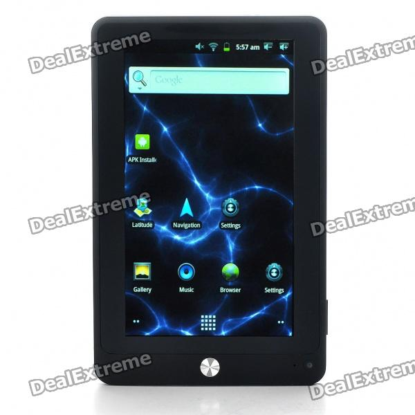 "7 ""сенсорным ЖК-экраном 2,3 Google Android Tablet PC ж / WiFi / HDMI / TF - черный (Telechips8803 1.2GHz/4GB)"