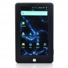 "7"" Touch Screen LCD Google Android 2.3 Tablet PC w/ WiFi/HDMI/TF - Black (Telechips8803 1.2GHz/4GB)"