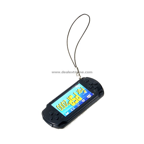 PSP 2000 Slim Shaped Whistle Keychain