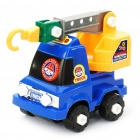Intellectual Development DIY Plastic Toy Assembly Kit - Construction Truck Crane - Random Color