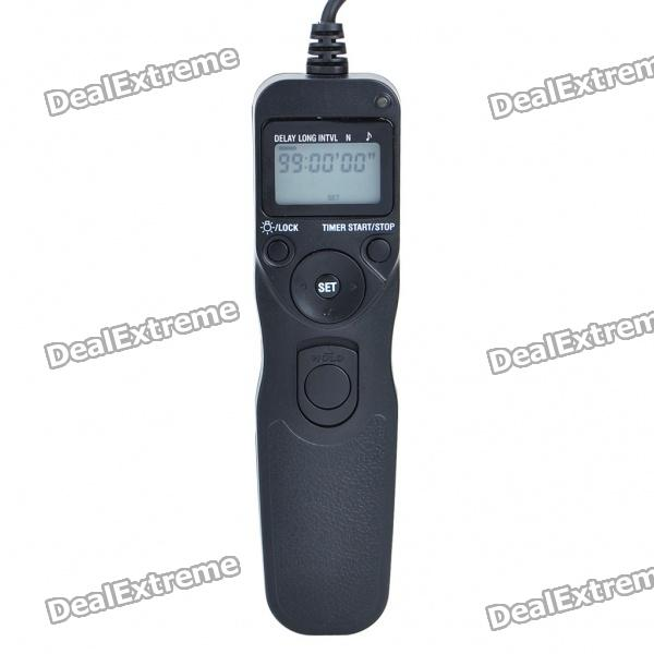 TC-2006 1.2 LCD Wired Timer Remote Shutter Release for Nikon D90/D5000