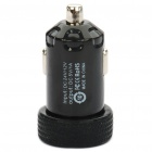 Universal 1000mA USB Car Charger Adapter for Digital Devices - Black (12~24V)