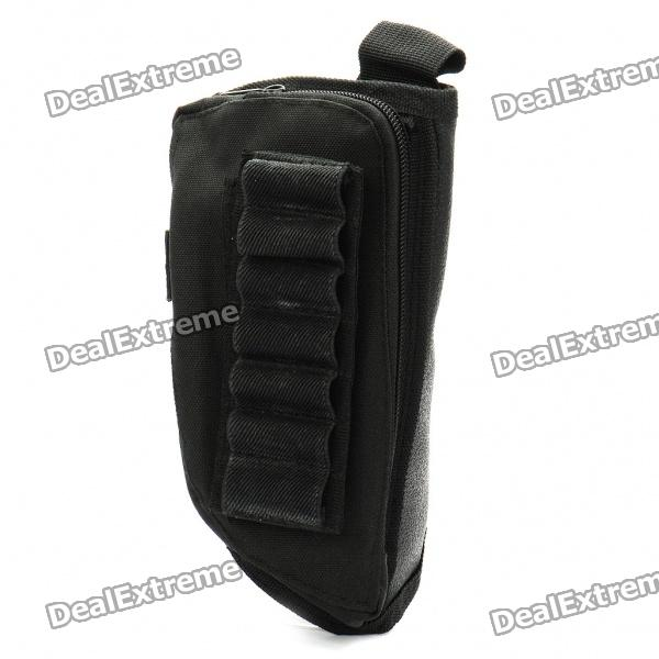 Oxford Cloth Tactical Butt Stock Rifle Ammo Cheek Rest (Random Color)