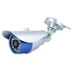 Wired 300KP Water Resistant Surveillance Security Camera with 24-IR LED Night Vision