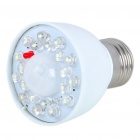 E27 210-260LM 5500-6000K White 20-LEDs Human Sensor Lamp Light