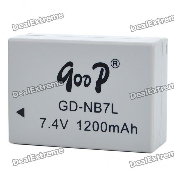 Replacement 7.4V 1200mAh Battery Pack for Canon G10/G11/G12/SX30 IS