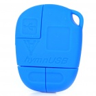 Compact USB to Mini USB/Micro USB/DC 2.0mm Charging/Data Cable Adapter - Blue