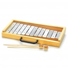 Musical Instrument Glockenspiel with Case (13-Note)
