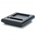 Dual USB Cradle Docking Station Phone Charger with Extra Battery Slot for Samsung i9100 Galaxy S2