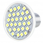 E27 4.5W 30-SMD 5050 LED 360LM 7000K White Light Bulb (220V)