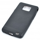 Protective Silicone Back Case for Samsung Galaxy S II i9100 - Black