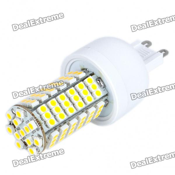 цены на G9 6W 102-SMD 3528 LED 310-410LM 3000-3500K Warm White Light Bulb (85~265V) в интернет-магазинах