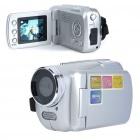 300KP Digital Video Camcorder w/ 4X Digital Zoom/AV-Out/SD - Silver (3 x AAA / 1.8