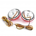 White LED Car Tail Signal Light Bulbs for Corolla Car - Pair (DC 12V)
