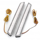 White LED Car Tail Signal Light Bulbs for Mazda Car - Pair (DC 12V)