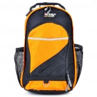 SUNNY17 Backpack Double-Shoulder Schoolbag - Orange + Black