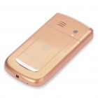 "2.2"" LCD Quad SIM Quad Network Standby Quadband GSM TV Cell Phone w/ Wi-Fi/JAVA - Golden"