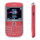 "2.2"" LCD Quad SIM Quad Network Standby Quadband GSM TV Cell Phone w/ JAVA - Red"