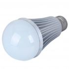 E27 7W 7000K 630-Lumen 7-LED White Light Bulb (AC 85~265V)