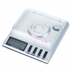 "1.3"" LCD Blue Backlit Digital Pocket Scale w/ 10g Calibration Weight - 20g/0.001g (2 x AAA)"