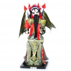 Handicraft Works Chinese Peking Opera Collection Figurine - Zhang Fei