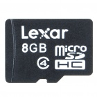 Genuine Lexar Micro SDHC/TransFLash Memory Card - 8GB (Class 4)