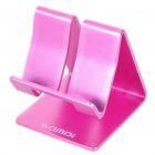 Genuine SAMDI Universal Aluminum Alloy Desktop Holder Stand for Tablet PC - Rose Red