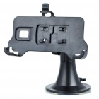 Car Swivel Mount Holder w/ Car Charger Set for LG P990/P993 - Black