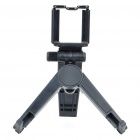 Stylish ABS Portable Holder for Tablet / Cellphone / GALAXY S4 + More - Black