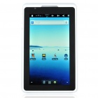 "7"" Capacitive Touch LCD Android 2.3 Tablet PC w/ Wi-Fi/USB Host/HDMI (4GB/ROCKCHIP RK2918)"