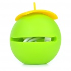 Unique Compact USB to iPhone/Micro USB/DC 2.0mm Charging/Data Cable - Green