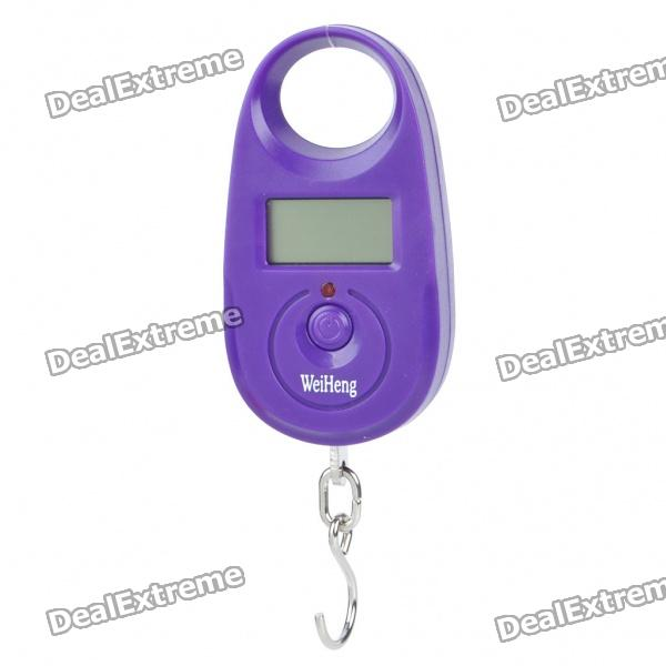 "1.0"" LCD Portable Digital Electronic Weighting Hook Scale - Purple (15kg Max/5g Resolution) от DX.com INT"