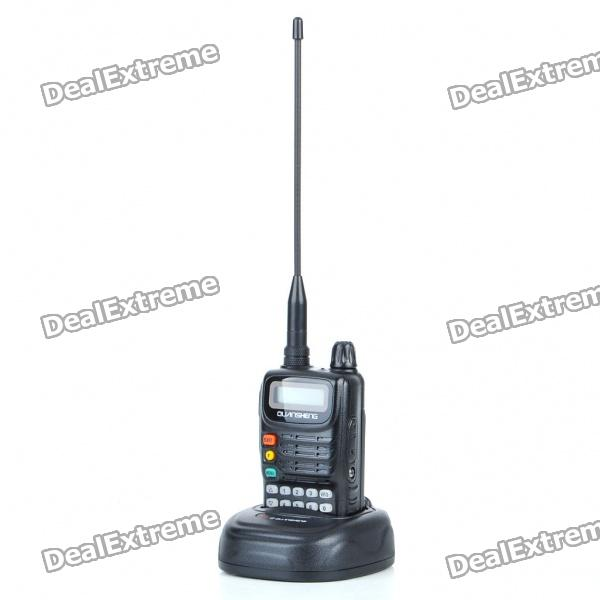 "1.1"" LCD 100 Channel Rechargeable Walkie Talkie with FM Radio"