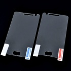 Protective Screen Film Protector for Samsung i9100 Galaxy S2 (2-Piece Pack)