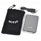 Portable 3G/TD-SCDMA/WCDMA/EVDO USB WiFi Wireless Router - Black