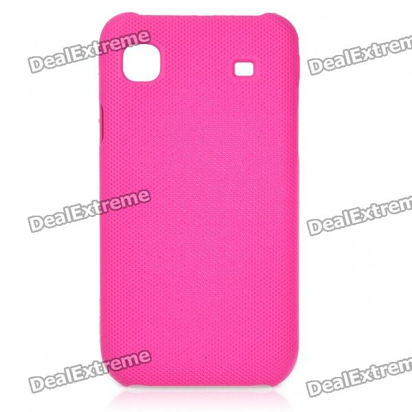 Protective ABS Mesh Case for Samsung i9000 Galaxy S - Dark Pink