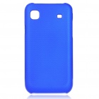 Protective ABS Mesh Case for Samsung i9000 Galaxy S - Dark Blue