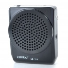 13W Music Speaker Voice Amplifier Megaphone w/ Headset Microphone - Black