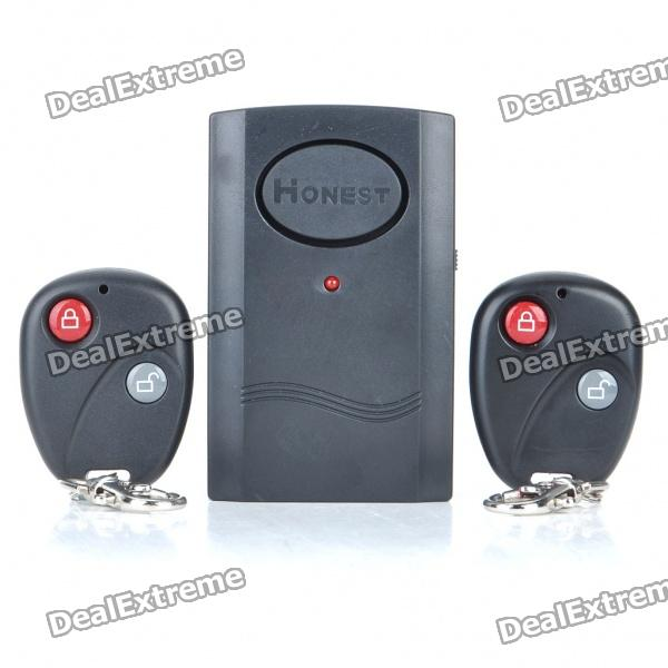 Vibration Activated 120dB Anti-Theft Security Alarm with Remote Controls (1 x 9F22) gefest сг сн 1211
