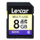 Genuine Lexar SDHC Memory Card (8 GB / Class 4)