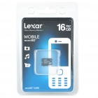 Genuine Lexar TF/Micro SDHC Memory Card (16 GB / Class 6)
