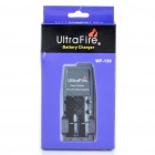 "Ultra Fire All-in-One Batteries Charger with 2 x 18650 Rechargeable ""3000mAh"" Li-ion Batteries"