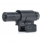 Universal Mini Aluminum Alloy 5mW Red Laser Scope Gun Aiming Sight (3 x AG13)