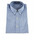 Men's Tabby Cotton Long Sleeve Men's Shirt - Striped (XXL)