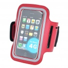 Sporty Armband for Iphone 4 - Black + Red