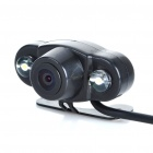 300KP Wireless Waterproof Car Rearview Camera w/ Transmitter/Receiver/2-IR LED Night Vision (PAL)