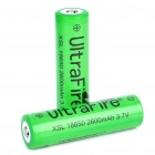 "Ultra palo All-in-One akut laturi 2 x 18650 ladattava ""2600 Mah"" Li-ion-akut"