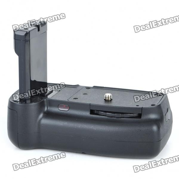 Vertical External Battery Grip w/ Remote Control for Nikon D3100/D5100 new vertical battery grip pack 2x en el14 decoded battery for nikon d3100 d3200 d3300 camera 2 step shutter free shipping