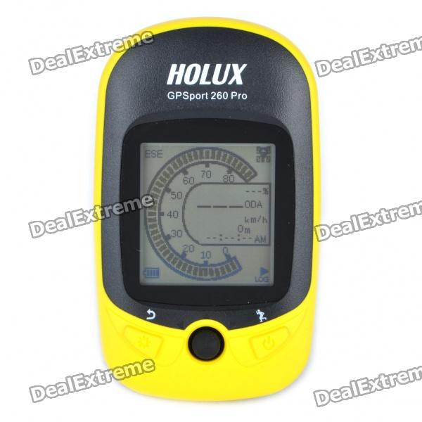 "HOLUX 1.6"" LCM USB Rechargeable Bike GPSport 260 Pro"