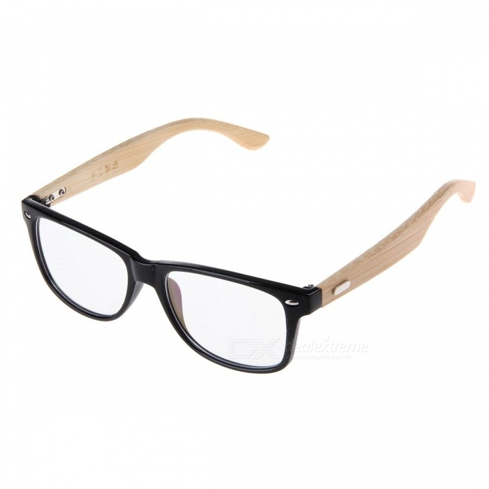 цены Fashion Computer Radiation Protection Bamboo Earpiece Plastic Frame Resin Lens Eyeglasses